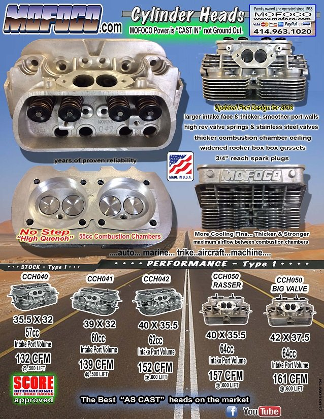 Mofoco Vw Performance Heads Rebuilt Vw Transmissions Air Cooled Vw Engines Air Cooled Vw Parts
