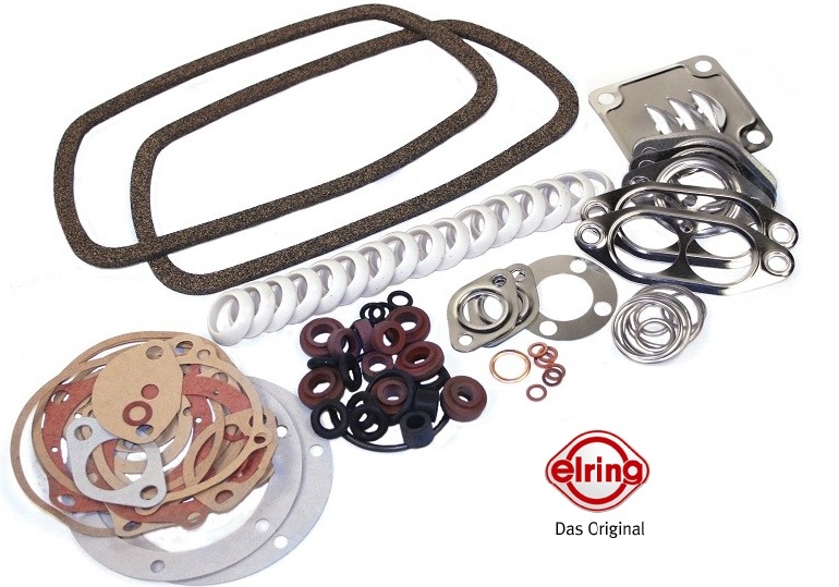 VW BUG ENGINE GASKET SET / FLYWHEEL SEAL