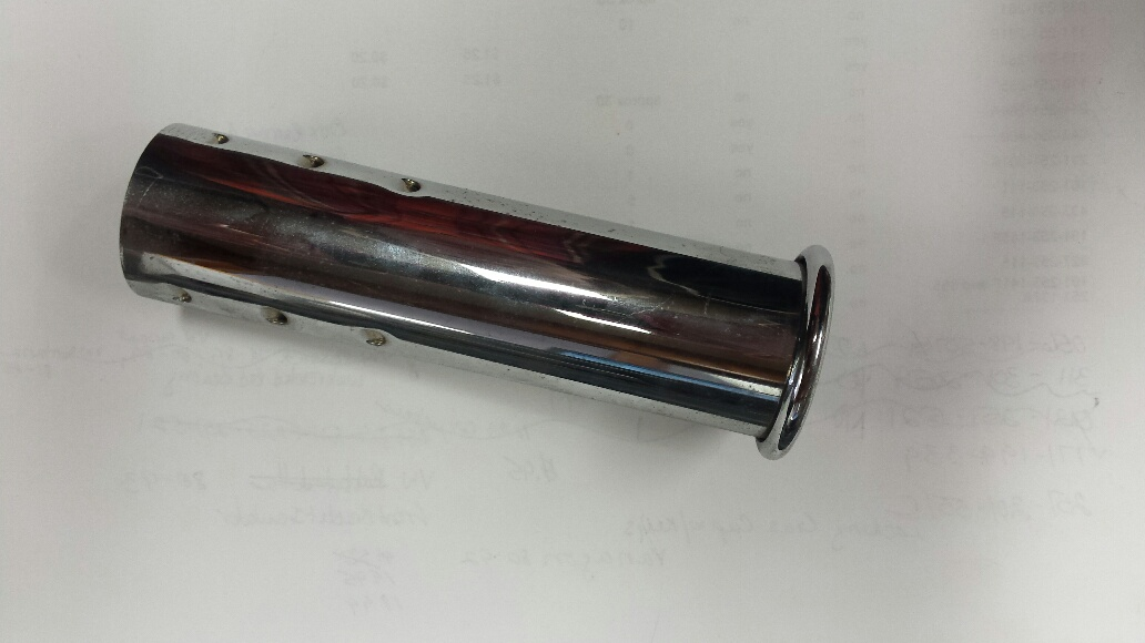 043-251-187B TAIL PIPE 1975-1979, 35mm, ea