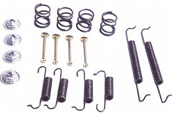 TYPE 1 SUPER BEETLE ONLY FRONT DRUM BRAKE HARDWARE KIT 1971-1979