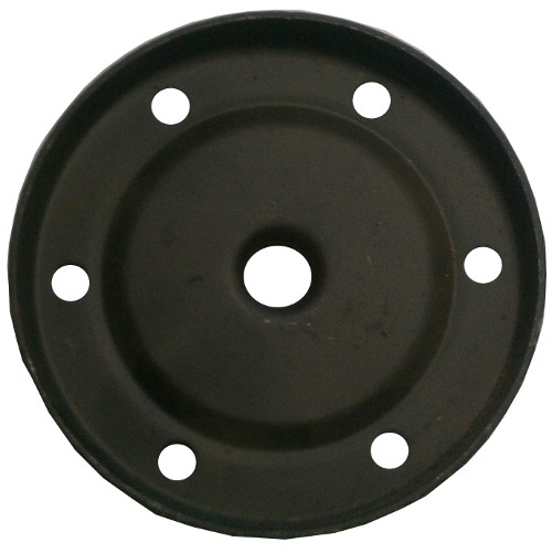 OIL STRAINER COVER PLATE WITH DRAIN HOLE - 25HP & 36HP VW