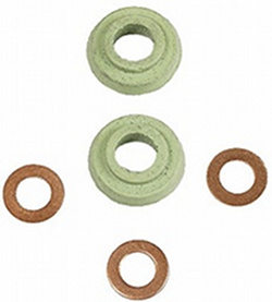 OIL COOLER CONVERSION SEAL KIT - 8MM TO 10MM - 40HP 12-1600CC - FOR INSTALLING A LATE OIL COOLER ON A EARLY ENGINE