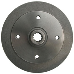 113-501-615J Rear Brake Drum (4 hole) fits 68-78, Type 1