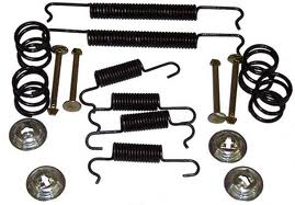 113-698-002 Front Brake Shoe Hardware Kit 98-6987
