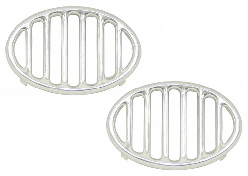 VW BEETLE BUG SPLIT OVAL  HORN GRILLS 52-67