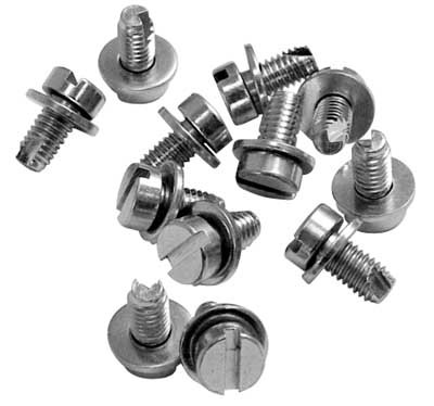12 VW BUG ENGINE TIN FAN SHROUD SHEET METAL SCREWS N107101