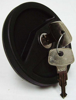 LOCKING GAS CAP - BUS 74-79