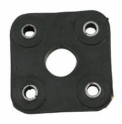 RUBBER STEERING COUPLER, FITS TYPE 2 BUS 1968-1979