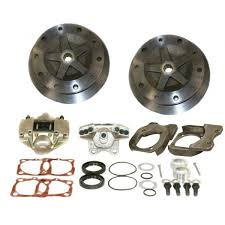 EMPI 22-2930 Wide Rear Disc Brake Kit w/o E-Brake, 5/205, Swing Axle 58-67