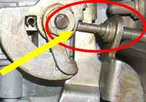 Throttle Arm Adjusting Screw 34pict 3