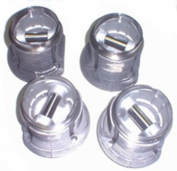 PISTON AND BARREL SET 1700cc VW BUS FLAT TOP T$