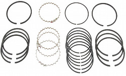 PISTON RING COMPLETE SET - 85.5MM - BEETLE/GHIA/TYPE-3 ALL WITH 1600CC