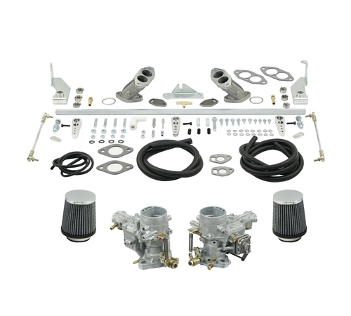 EMPI 43-7412 Dual 34ICT Carbs VW Bus Type 4 1700-2000cc