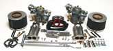 EMPI 44MM DUAL BROSOL / SOLEX CARBURETOR KIT W/ ELECTRIC CHOKES