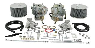 EMPI 43-4526 - 44mm Dual Brosol/Solex Carb Kit w/Electric Chokes