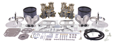 WEBER DUAL 44 IDF CARBURETOR KIT