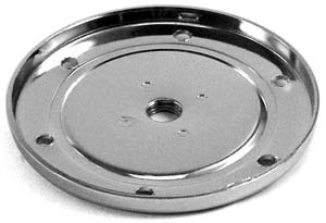 EMPI 8964 CHROME SUMP PLATE W/CHROME DRAIN PLUG