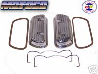 Empi 9138 Vw Aluminum Clip On Valve Covers & Gaskets