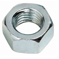 9348107001  M 7 - 1.0 Hex Nut, Class 8 Zinc. DIN 934