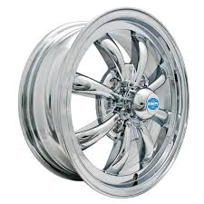 EMPI 9683 - 8 Spoke Wheel 4 x 130 Chrome, Ea