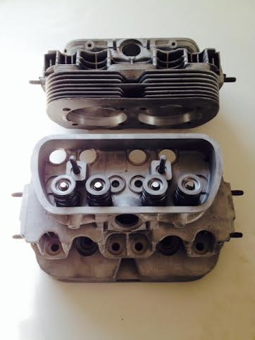 REBUILT SINGLE PORT VW CYLINDER HEAD