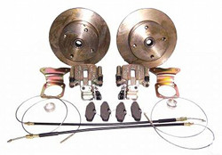 EMPI 22-2870-F Rear Disc Brake Deluxe Kit, 4/130 Swing Axle 1968, IRS 68-72