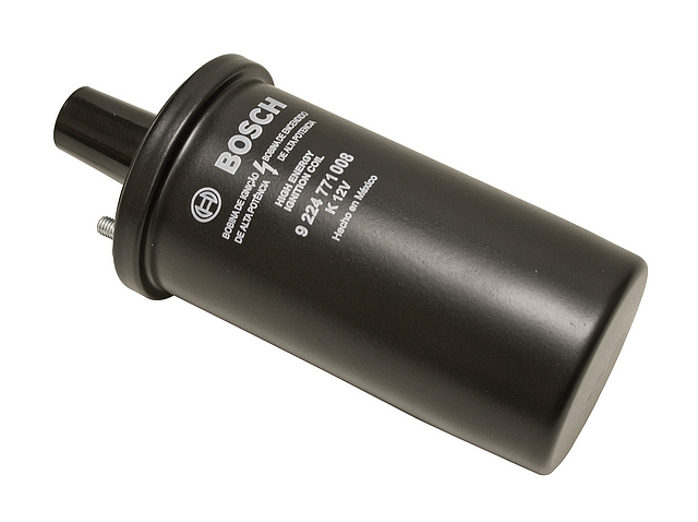 BOSCH BLACK IGNITION COIL 12-VOLT (OIL FILLED)