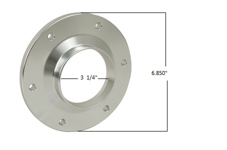 EMPI 17-2784 Axle Flange Cover, Billet, Each