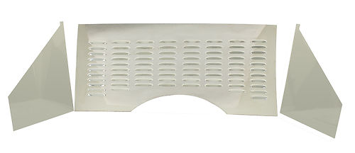 EMPI 62-3020 3-Piece Firewall Kit, Louvered, Each