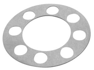 EMPI 8142 8 Hole Paper Gasket, 8mm Holes, Pack of 10