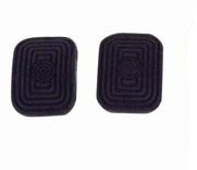 EMPI 9904 Pedal Pads, Clutch/Brake, Pair