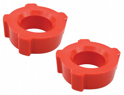 EMPI 16-5131 VW BUG SPRING PLATE/TORSION BAR KNOBBY URETHANE BUSHINGS 1-7/8