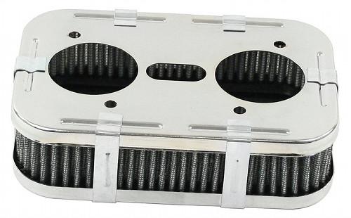 Mofoco EMPI 8805 CHROME CARBURETOR AIR GAUZE FILTER VW BUG