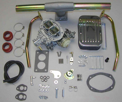 K 412 WEBER PROGRESSIVE PERFORMANCE CARBURETOR CONVERSION KIT