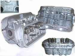 BARE****Mofoco 040 Dual Port New Cast Stock Cylinder Head  ***SCORE APPROVED***