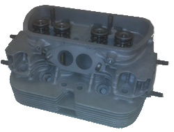 REBUILT DUAL PORT CYLINDER HEAD