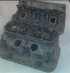 REBUILT 2.0L BUS SQUARE PORT CYLINDER HEAD