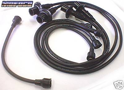 Black VW Bug Spark Plug / Ignition Wires