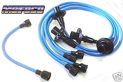 111-998-031B Blue VW Bug Spark Plug / Ignition Wires