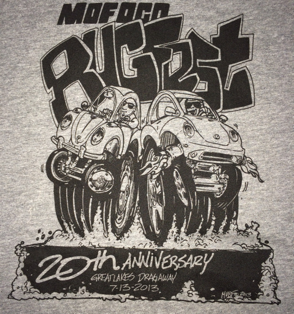 MoFoCo 20th Anniversary Bugfest T-Shirts