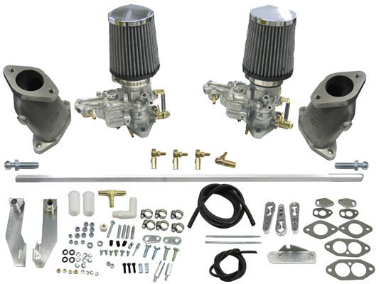 Dual Weber 34 Ict Carburetor Kit