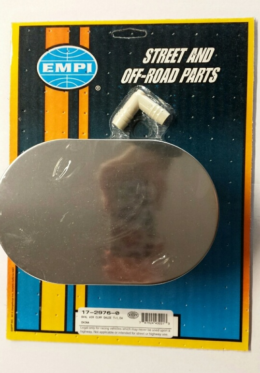 EMPI 17-2976 Rubber Flange Gauze Air Cleaner