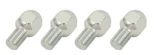 EMPI 9568 Ball Seat Chrome Lug Bolts