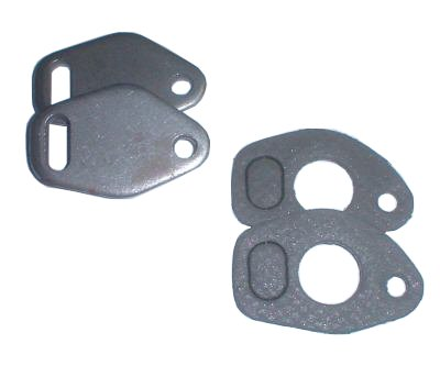 EMPI 3447 HEAT RISER BLOCK OFF PLATES W/ GASKETS VW BUG