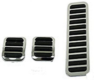 EMPI 4551 VW Bug Brake, Clutch & Accelerator Pedal Assembly Covers, 3-Piece Set