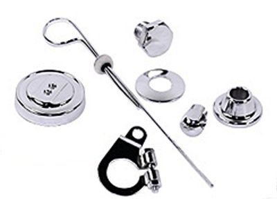 EMPI 8740 VW BUG ENGINE DELUXE CHROME PULLEY TIN KIT
