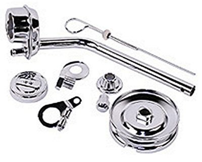 EMPI 8741 VW BUG ENGINE DELUXE CHROME PULLEY TIN KIT