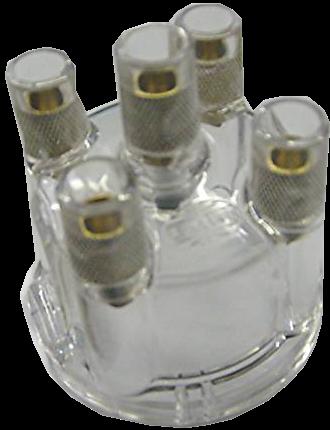 EMPI 8790 Vw Bug Engine Distributor Cap Clear