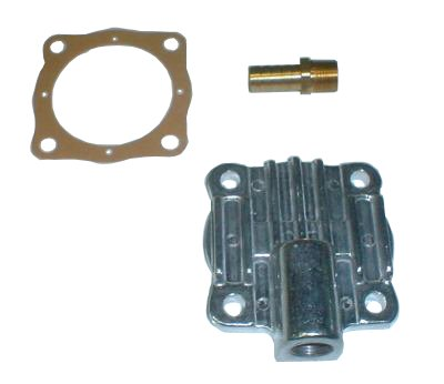 EMPI 9226 OIL PUMP COVER W/FITTING VW BUG GHIA ENGINE