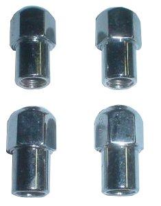 EMPI 9536 CHROME LUG NUTS 1/2-20 MAG WHEELS RIMS VW BUG